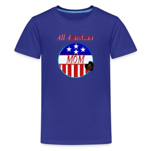 All American MOM - Kids' Premium T-Shirt