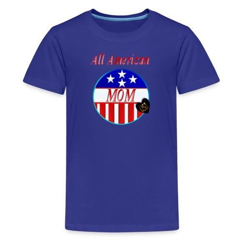 All American MOM - Kids' Premium T-Shirt