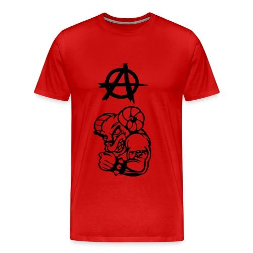 Anarchy the Ram - Men's Premium T-Shirt