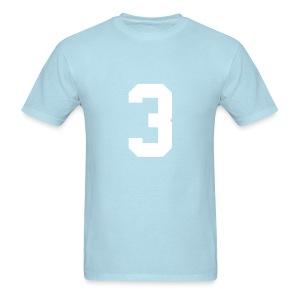 NUMBER 3 - Men's T-Shirt