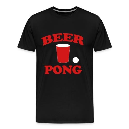 BEER PONG - Men's Premium T-Shirt