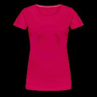 T-Shirts ~ Women's Premium T-Shirt ~ I'm a Survivor Not a Statisitc - Women's Plus Size Pink Ribbon Tee