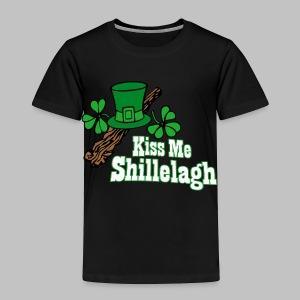 Kiss Me Shillelagh - Toddler Premium T-Shirt