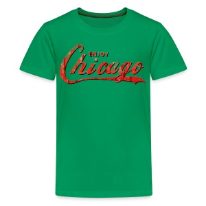 Enjoy Chicago - Kids' Premium T-Shirt