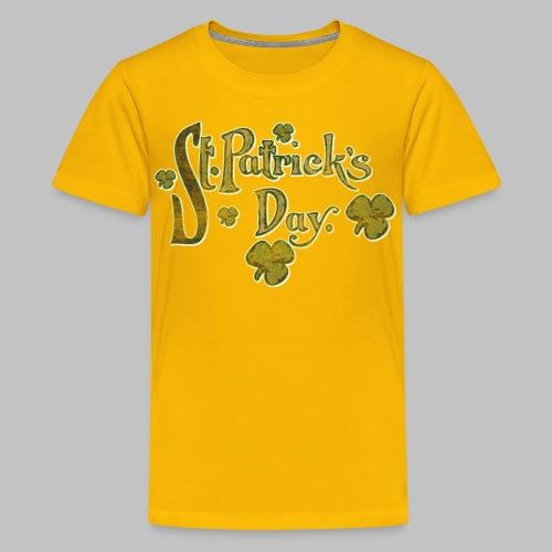 Vintage St. Patrick's Day - Kids' Premium T-Shirt