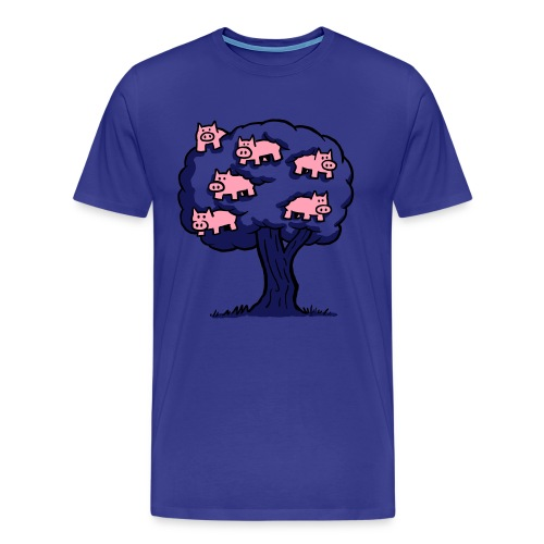 Pig Tree - Men's Premium T-Shirt