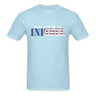 T-Shirts ~ Men's T-Shirt ~ Proud To Be An Infidel
