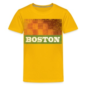 Old Boston Parquet - Kids' Premium T-Shirt