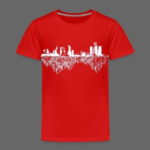 Detroit Skyline With Roots Toddler T-Shirt - Toddler Premium T-Shirt