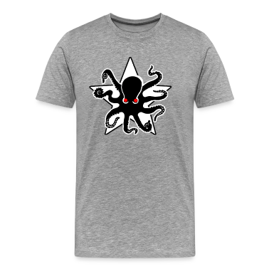 Evil Octopus Star T-Shirts