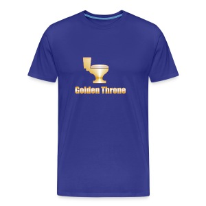 Golden Throne - Men's Premium T-Shirt