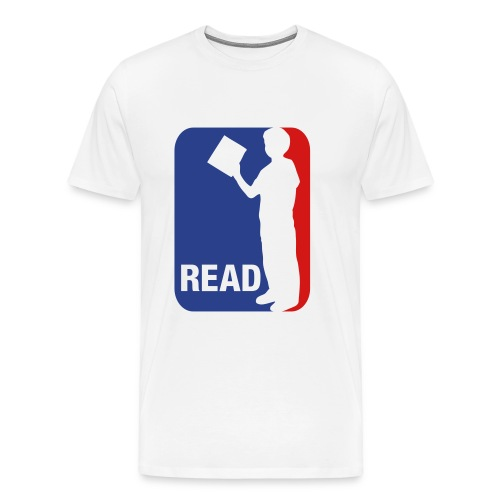 Read (Sports Logo) - Men's Premium T-Shirt