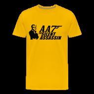 T-Shirts ~ Men's Premium T-Shirt ~ Silent Assassin T-Shirt (Men's)