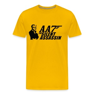Silent Assassin T-Shirt (Men's) - Men's Premium T-Shirt