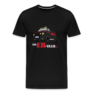 T-Shirts ~ Men's Premium T-Shirt ~ The Eh Team Men's Black T-Shirt