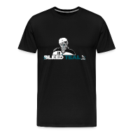 T-Shirts ~ Men's Premium T-Shirt ~ Bleed Teal Patty Men's Black T-Shirt