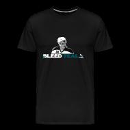 T-Shirts ~ Men's Premium T-Shirt ~ Bleed Teal Patty Men's Black T-Shirt