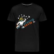 T-Shirts ~ Men's Premium T-Shirt ~ Stalock Saves Men's Black T-Shirt