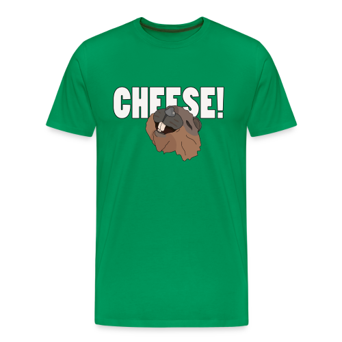 CHEESE! - Men's Premium T-Shirt