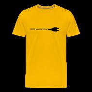T-Shirts ~ Men's Premium T-Shirt ~ Men's 100% Electric
