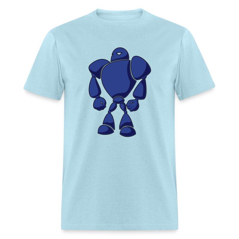 Big blue bot t shirt spreadshirt for Big blue t shirts