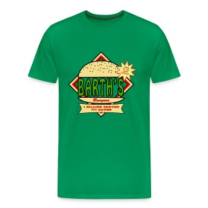 Barth's Burgers - Men's Premium T-Shirt
