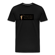 T-Shirts ~ Men's Premium T-Shirt ~ Pandora Machine Black T-shirt