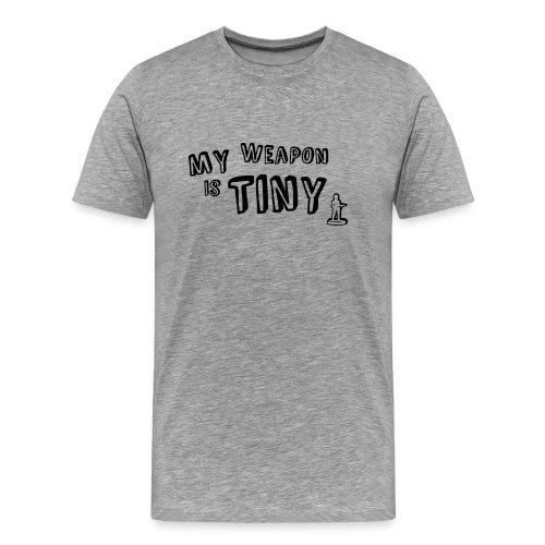 My Weapon 3XL - Men's Premium T-Shirt