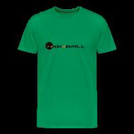 T-Shirts ~ Men's Premium T-Shirt ~ Funny Running T-shirt - Rastaman Running