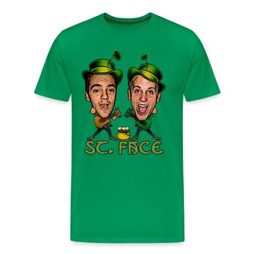 St. Face - Men's Premium T-Shirt
