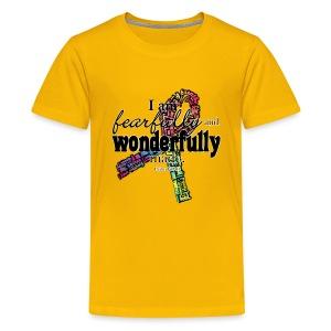 Fearfully made rainbow ribbon - Kids' Premium T-Shirt