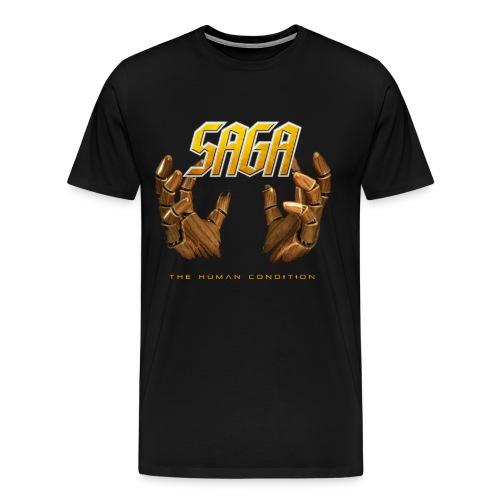 Saga Men's Hand T - Men's Premium T-Shirt