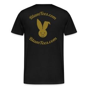 Blam Tees - Full Circle Logo Tee - Men's T-Shirt - Men's Premium T-Shirt