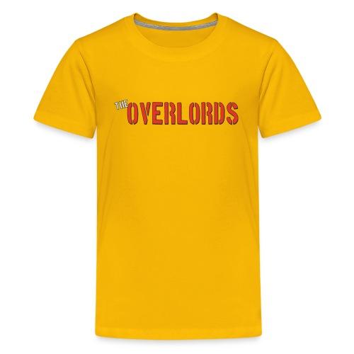 The Overlords Plain Text - Kids' Premium T-Shirt