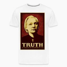 Assange Truth Is Treason  T-Shirts
