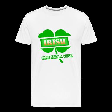 irish one day a year with 4 leaf clover 2011 digital