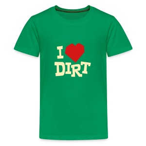I Heart Dirt - Kids - Kids' Premium T-Shirt