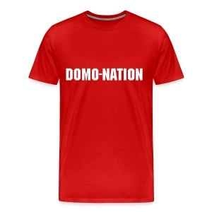 Domonation with Domonic Brown. - Men's Premium T-Shirt