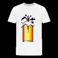 T-Shirts ~ Men's Premium T-Shirt ~ Beer Diver, beer drinker, larger lout