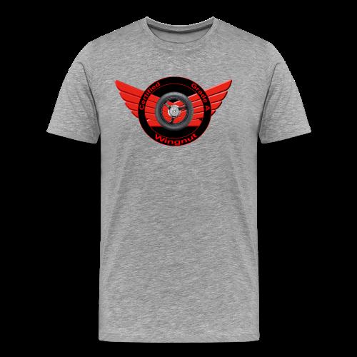 Men's Premium T Front Grade A Wingnut - Men's Premium T-Shirt