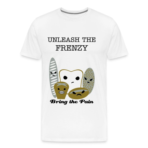 Unleash The Frenzy of Pastries Tee - Men's Premium T-Shirt