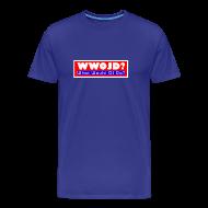 T-Shirts ~ Men's Premium T-Shirt ~ What Would OJ Do Cruel T-Shirt