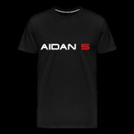 T-Shirts ~ Men's Premium T-Shirt ~ Aidan 5 Men's 3XL T-Shirt - Logo