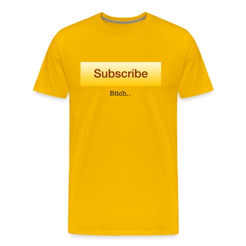 SUBSCRIBE - Men's Premium T-Shirt
