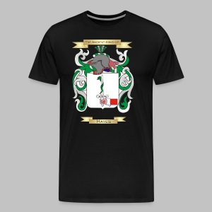 Hayes Coat of Arms  - Men's Premium T-Shirt