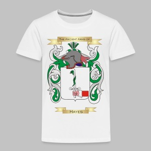 Hayes Coat of Arms  - Toddler Premium T-Shirt