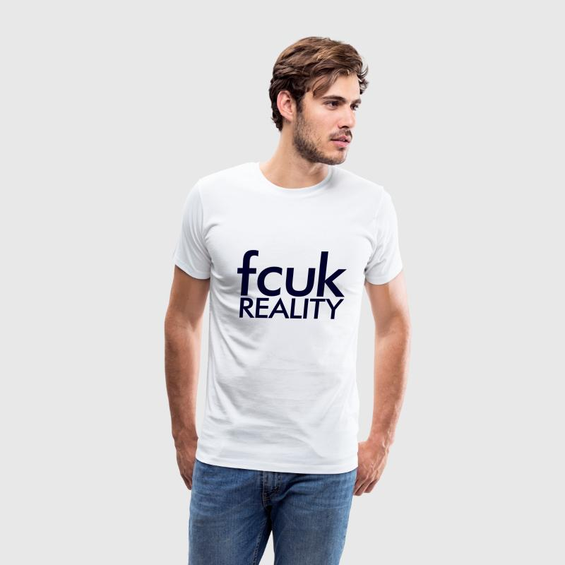 Fcuk Reality Layer Cake T-Shirts - Men's Premium T-Shirt