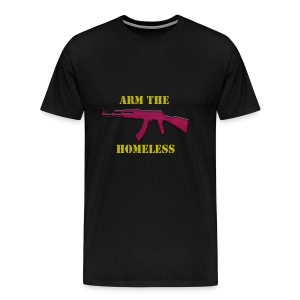 Arm The Homeless II - Men's Premium T-Shirt