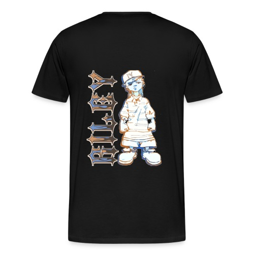 Riley no snitching - Men's Premium T-Shirt