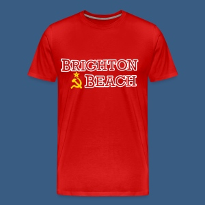 Brighton Beach Old Russia - Men's Premium T-Shirt